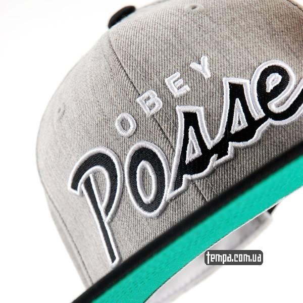 obey posse серая кепка оригинал обей в украине