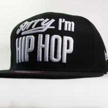 Кепка Snapback Sorry I'm Hip-Hop черная бейсболка New Era (Sorry I'm Fresh)