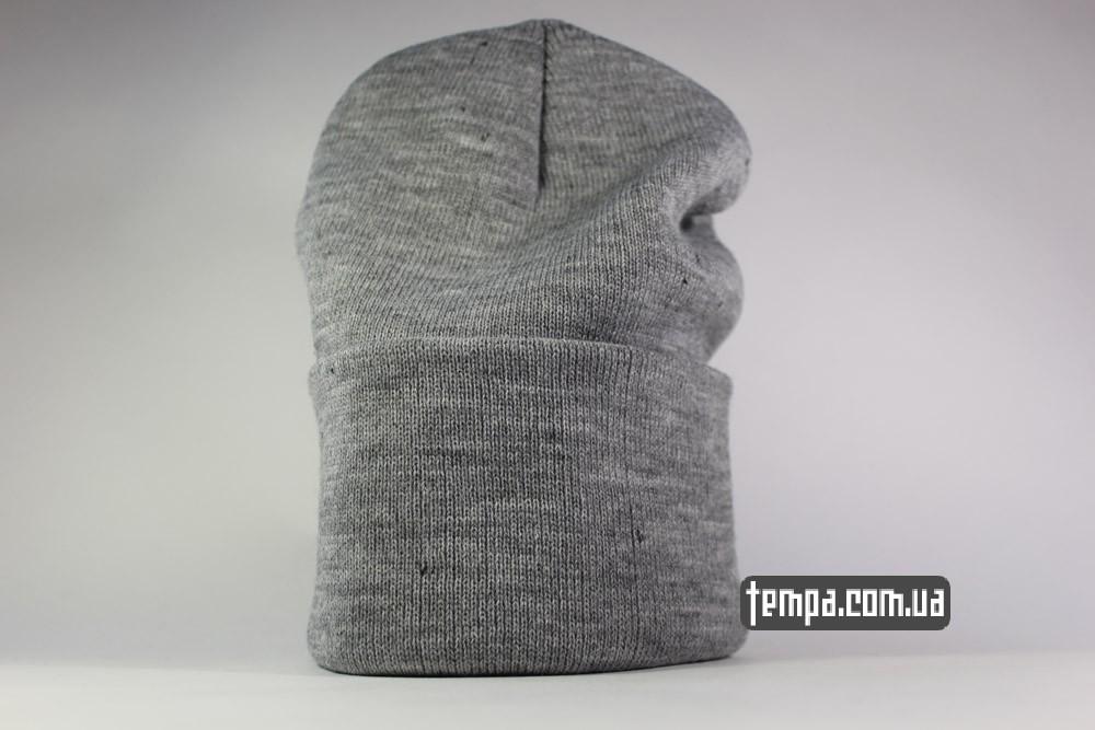 Шапка beanie VANS OFF THE WALL серая купить Украина зимняя шапка  6c45ad6fec63e