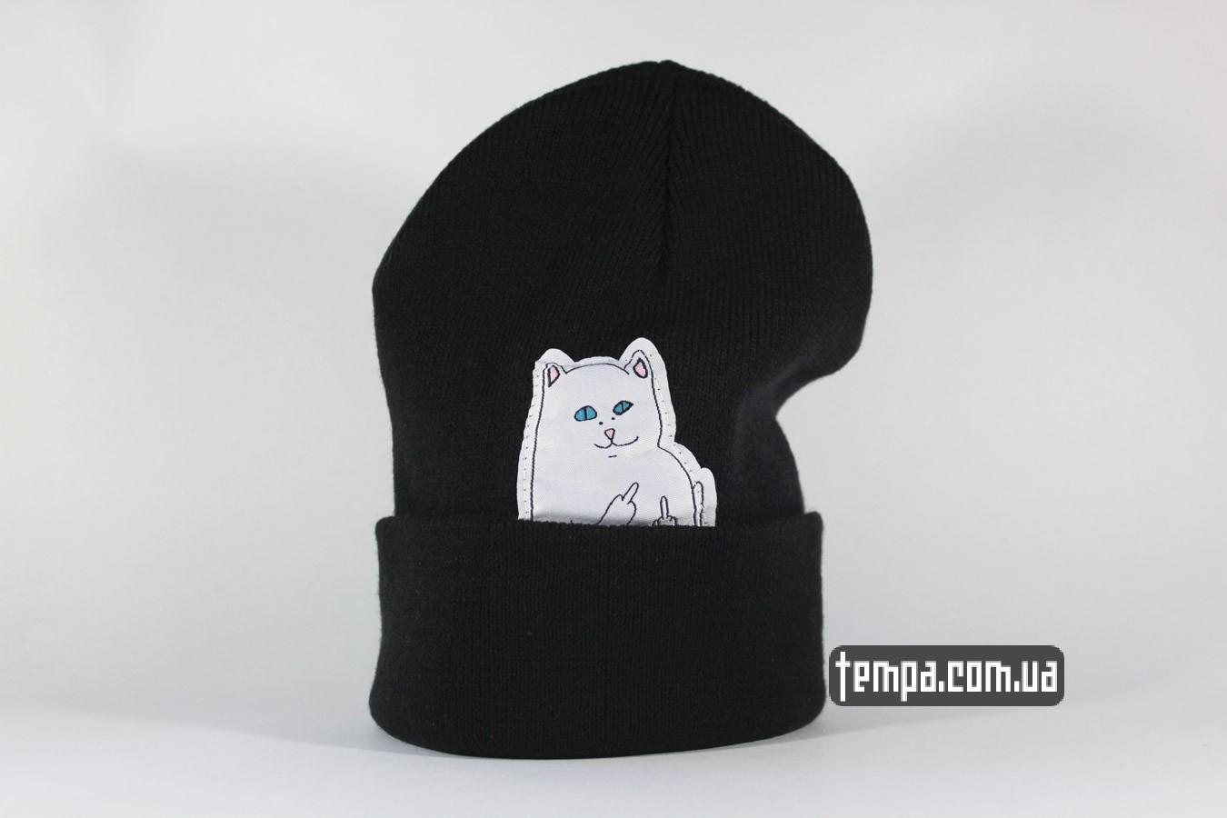 Купить шапка с котом для