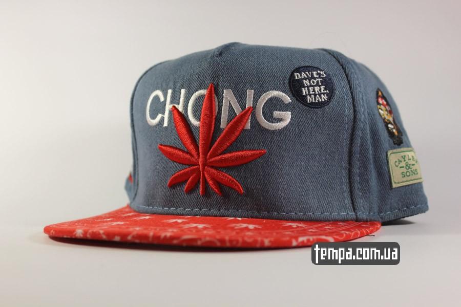 Кепка Snapback Чич Чонг Cheech Chong джинсовая с марихуаной коноплей ... 0f6478c8593d6