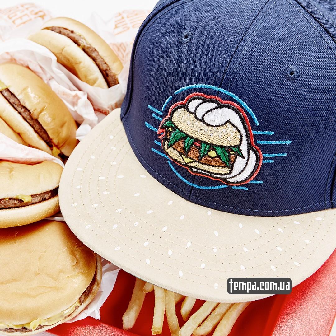 кепка с бургерами и картошкой одежда фри