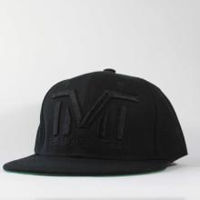 Кепка Snapback TMT The Money Team c черная с черным логотипом