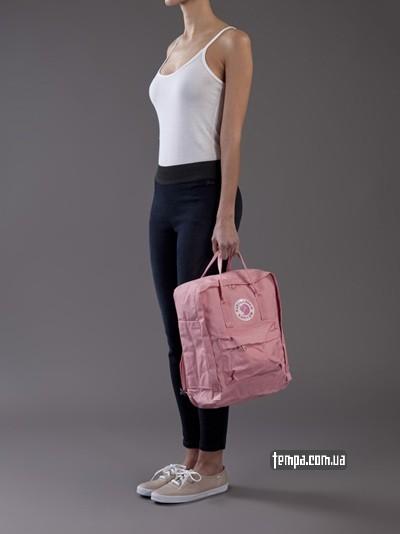 розовый рюкзак Канкен купить магазин