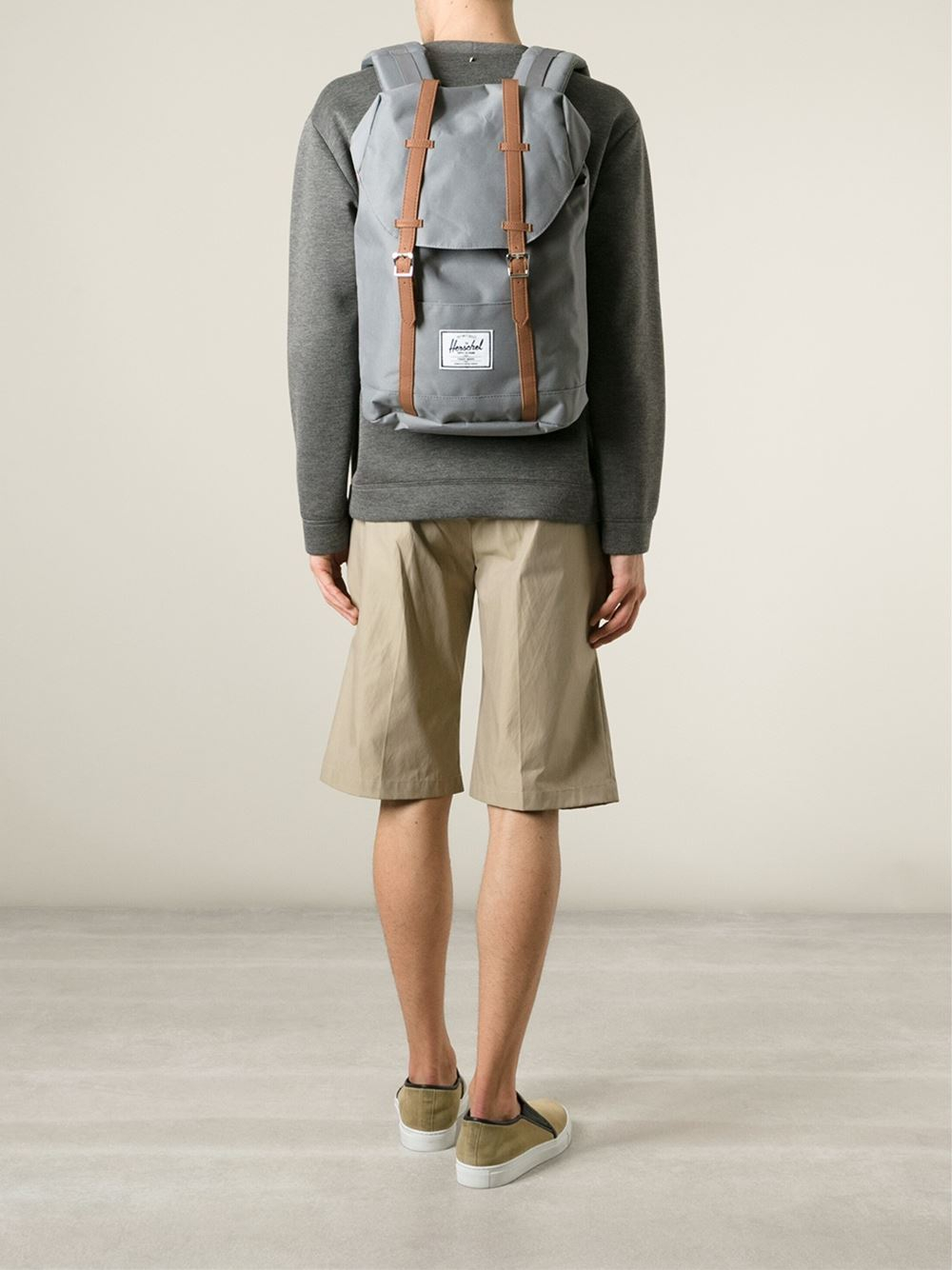 herschel-supply-co-grey-retreat-backpack-gray купить в украине