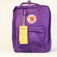 Рюкзак FJALLRAVEN Kanken 16 л. Classic фиолетовый лиловый молодежный backpack