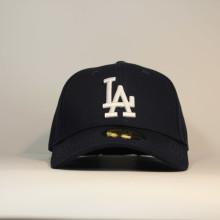 Кепка бейсболка LA Los Angeles NewEra синяя с логотипом