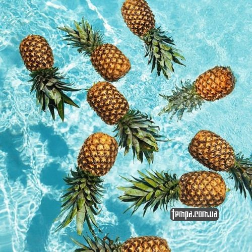 летняя одежда с ананасом море солцне пляж украина