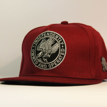 Кепка Snapback бордовая с Орлом Cayler and Sons Independently Owned and Operated
