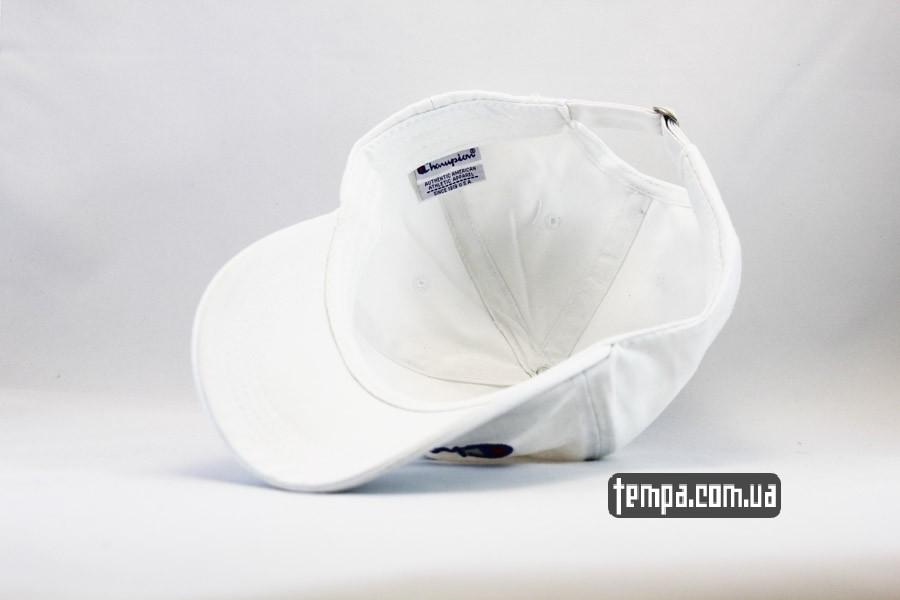Кепка бейсболка Champion cap белая чемпион купить одежда  ad00b7182ef00
