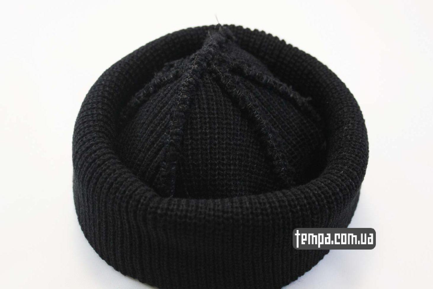 Шапка Монатика черная ASOS бини купить в Украине  0eeaee54aec11