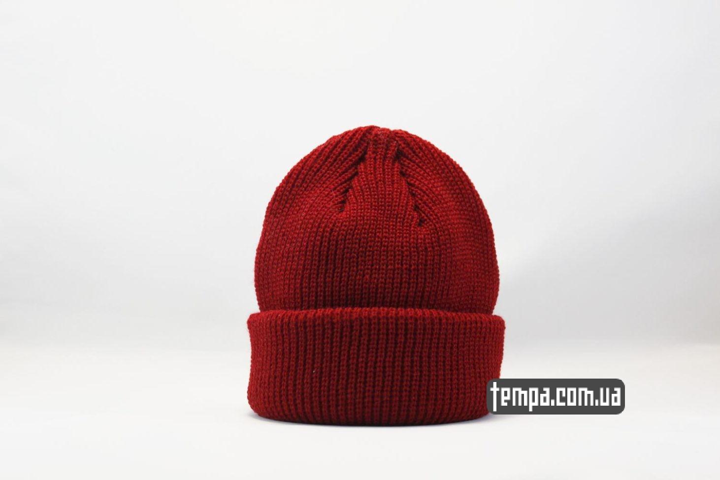 шапка как у монатика шапка beanie monatik ASOS красная коротка шапка
