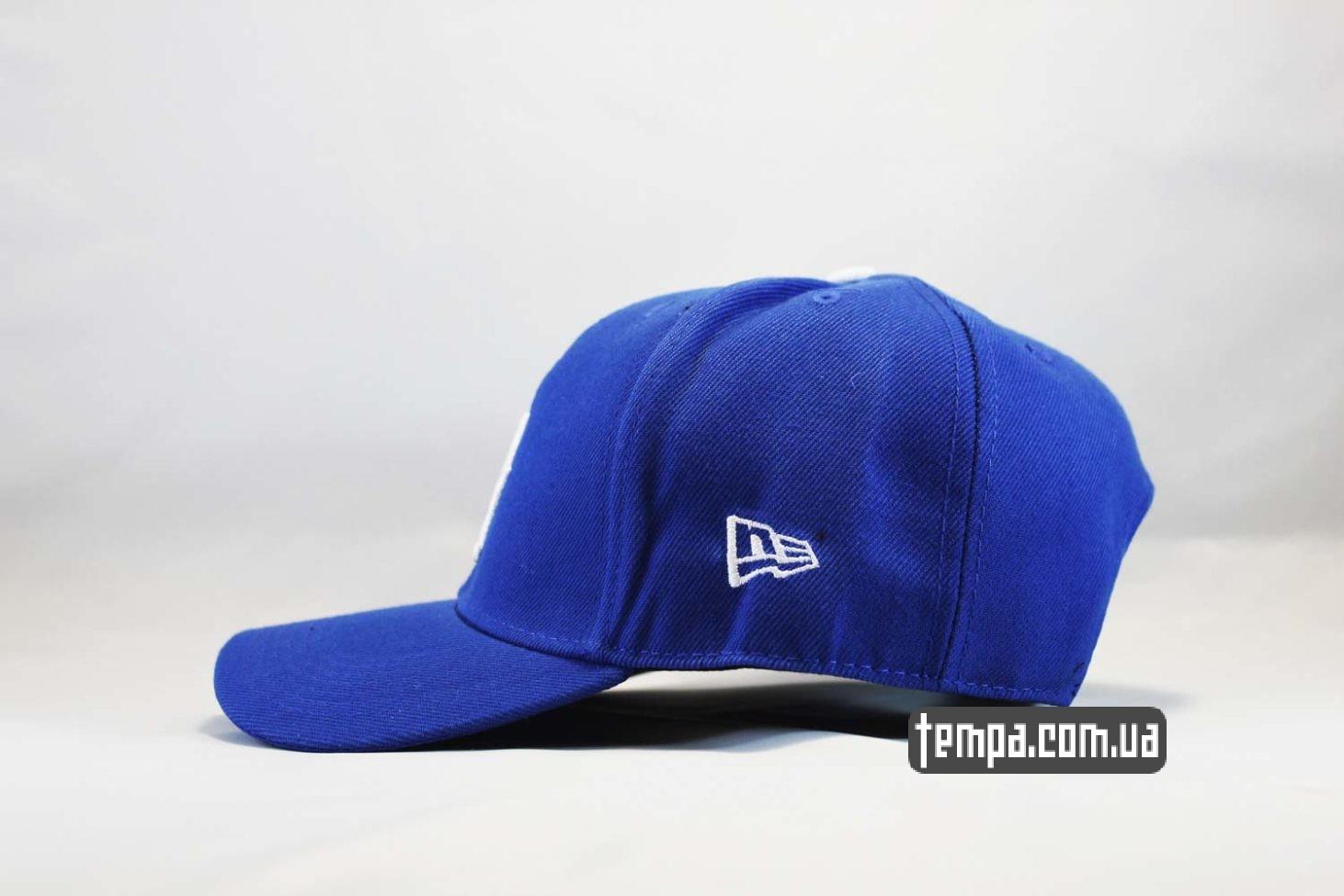 американский бейсбол кепка бейсболка snapback LA Los Angeles Dodgers New Era синяя купить