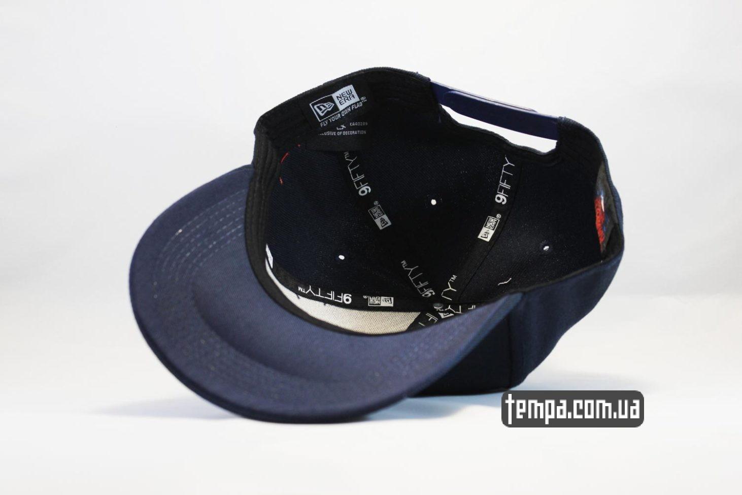 где купить в Украине кепка snapback Boston Red Sox new Era 9fifty синяя купить Украина
