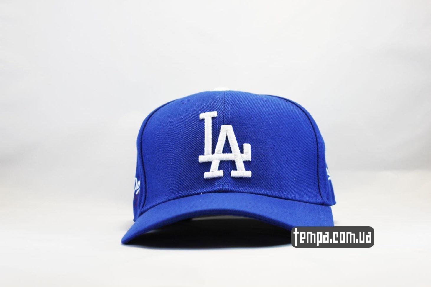 кепка бейсболка snapback LA Los Angeles Dodgers New Era синяя купить