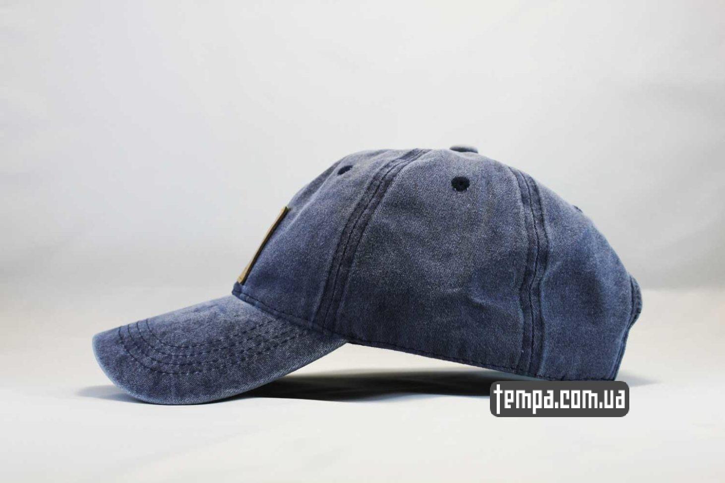 киев купить оригинал кепка Carhartt бейсболка джинсовая синяя купить