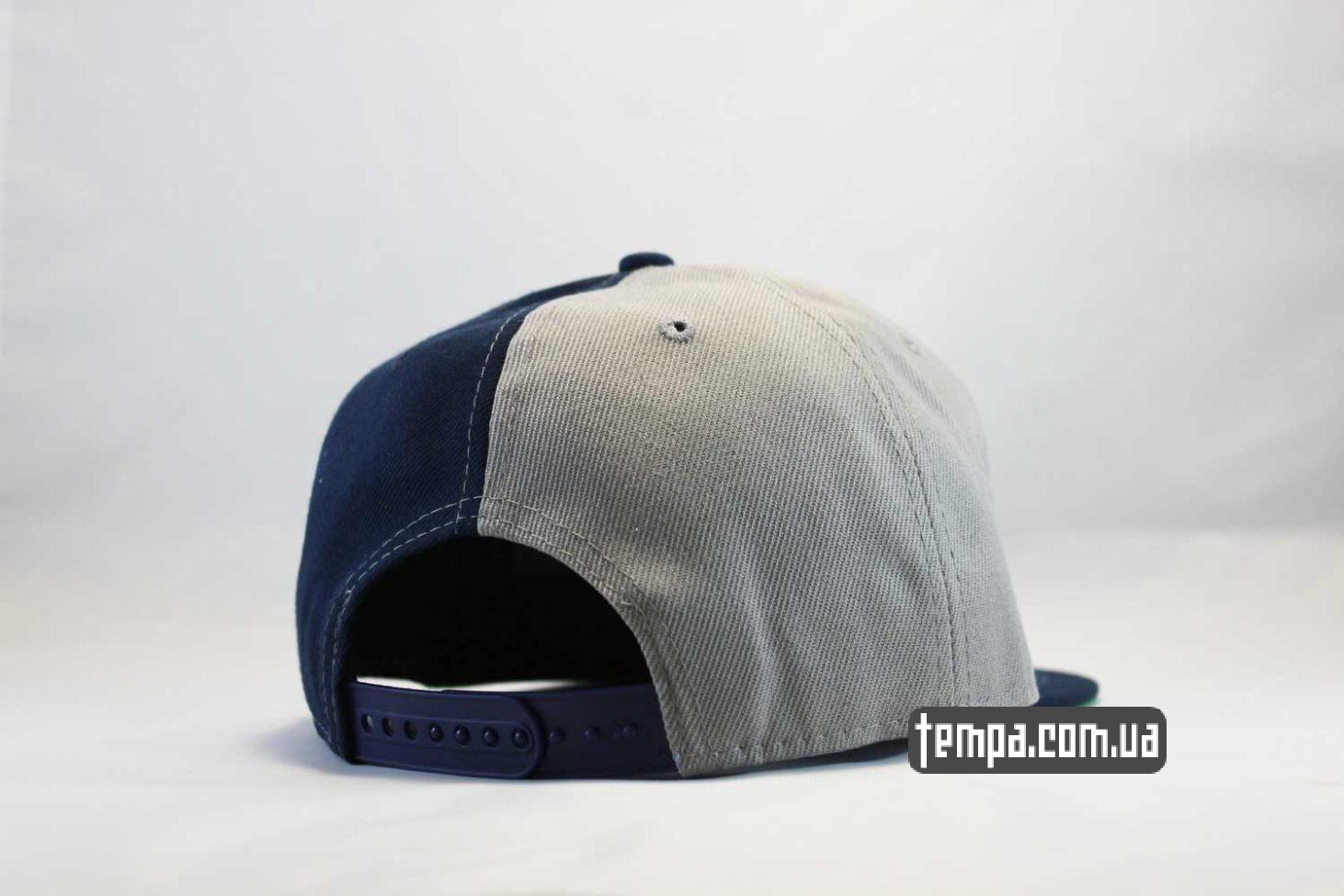 сине-серая кепка Snapback La Los Angeles Oldschool classic New Era бейсболка купить