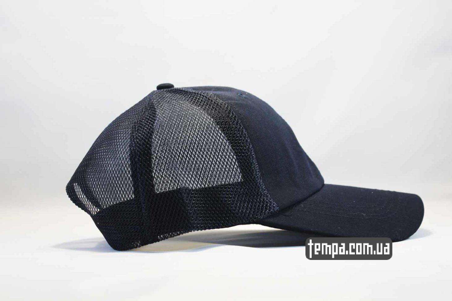 фила украина одежда кепка бейсболка fila синяя trucker с сеточкой