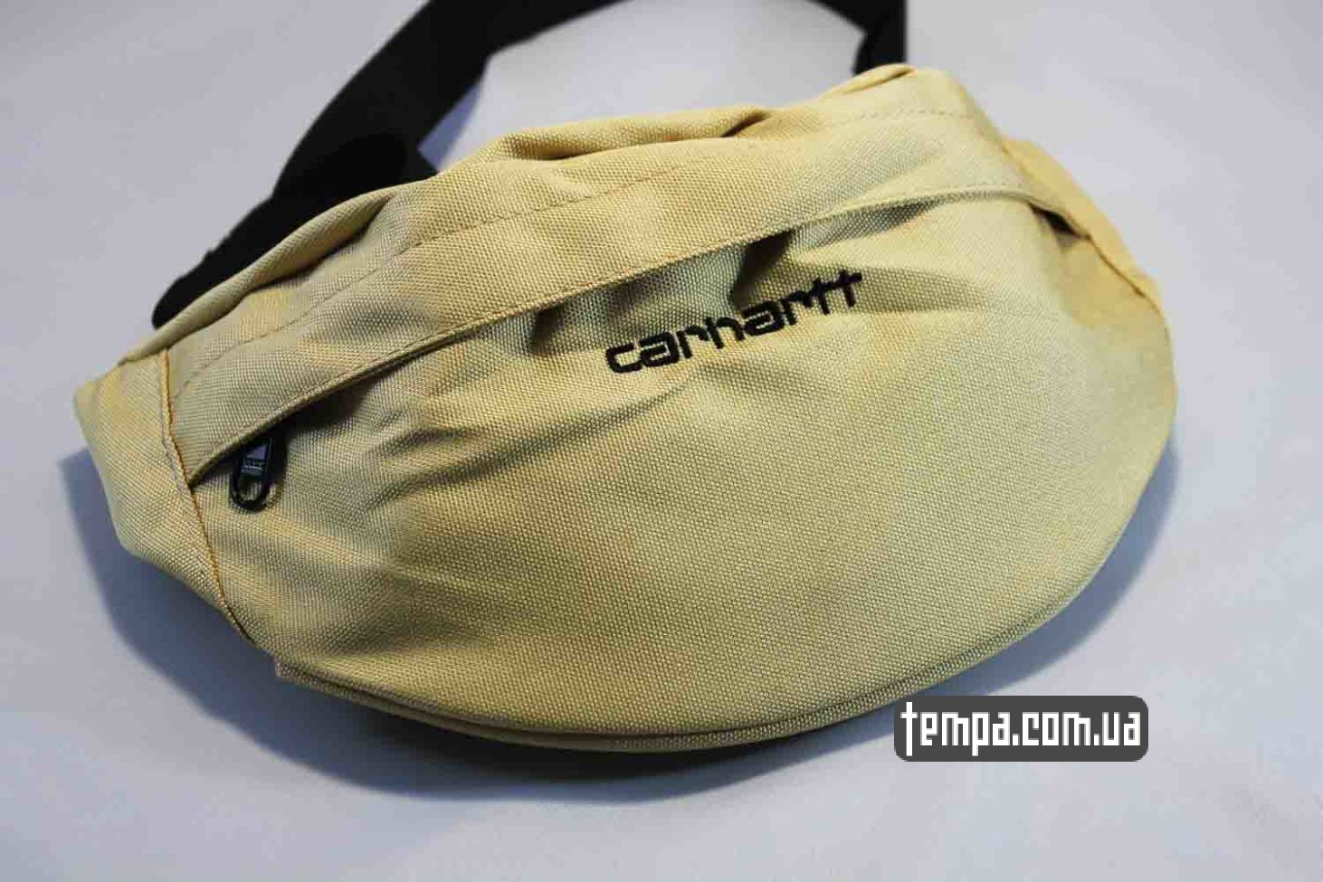 кархарт США американская сумка на пояс бананка Carhartt Fanny Pack бежевая белая купить
