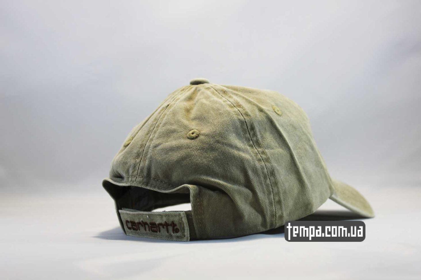 кархарт украина магазин кепка бейсболка Carhartt джинсовая серая купить
