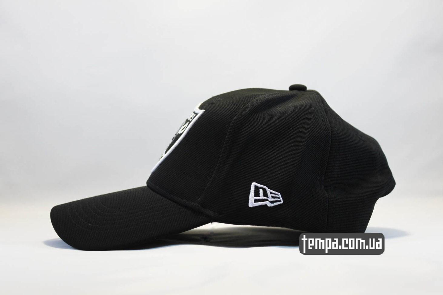 реперская одежда кепка бейсболка raiders new era закругленный козырек купить