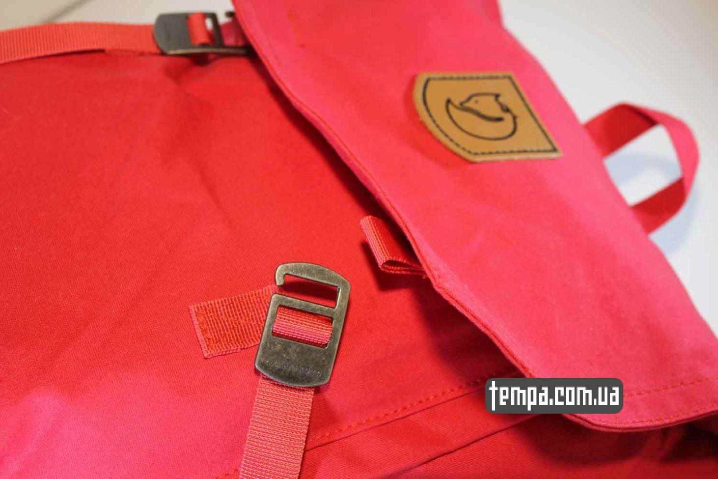 Украина купить оригинал рюкзак сумка Fjällräven Foldsack No.1 Ox красная