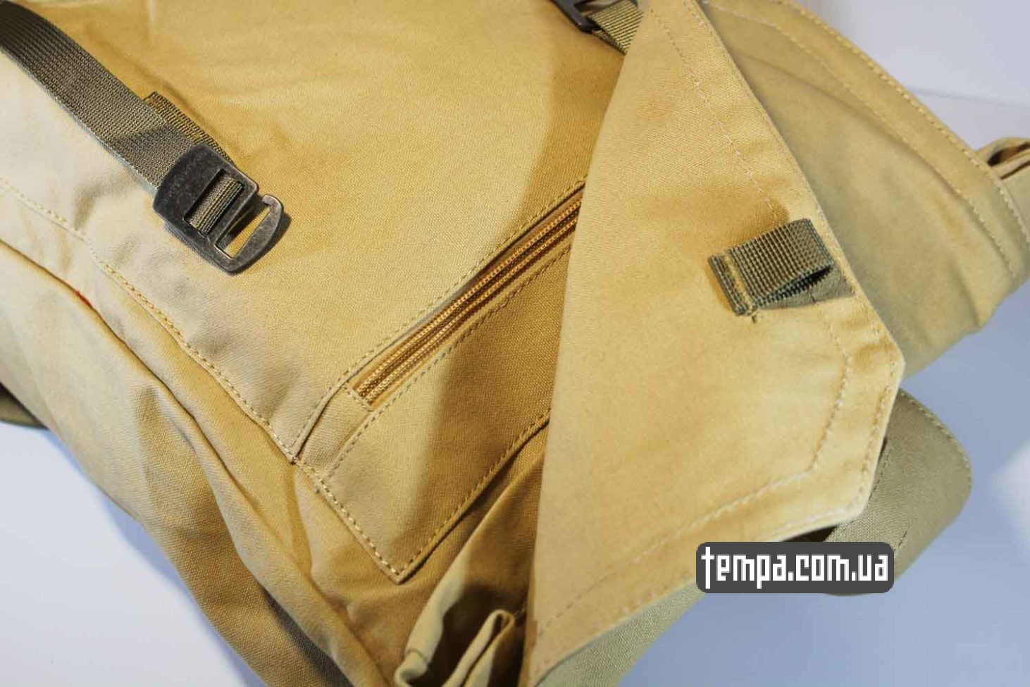 Украина оригинальная одежда рюкзак сумка Fjallraven Foldsack No.1 Backpack бежевый