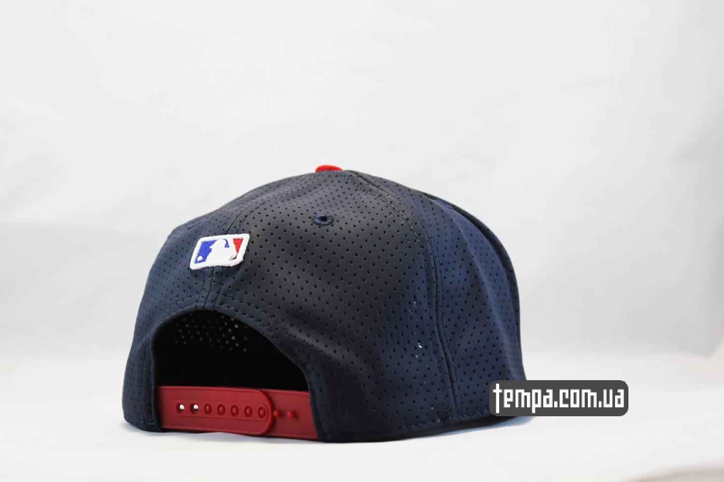 бейсболкая кепка атланта одежда кепка snapback Cleveland Indians New Era trucker с сеточкой