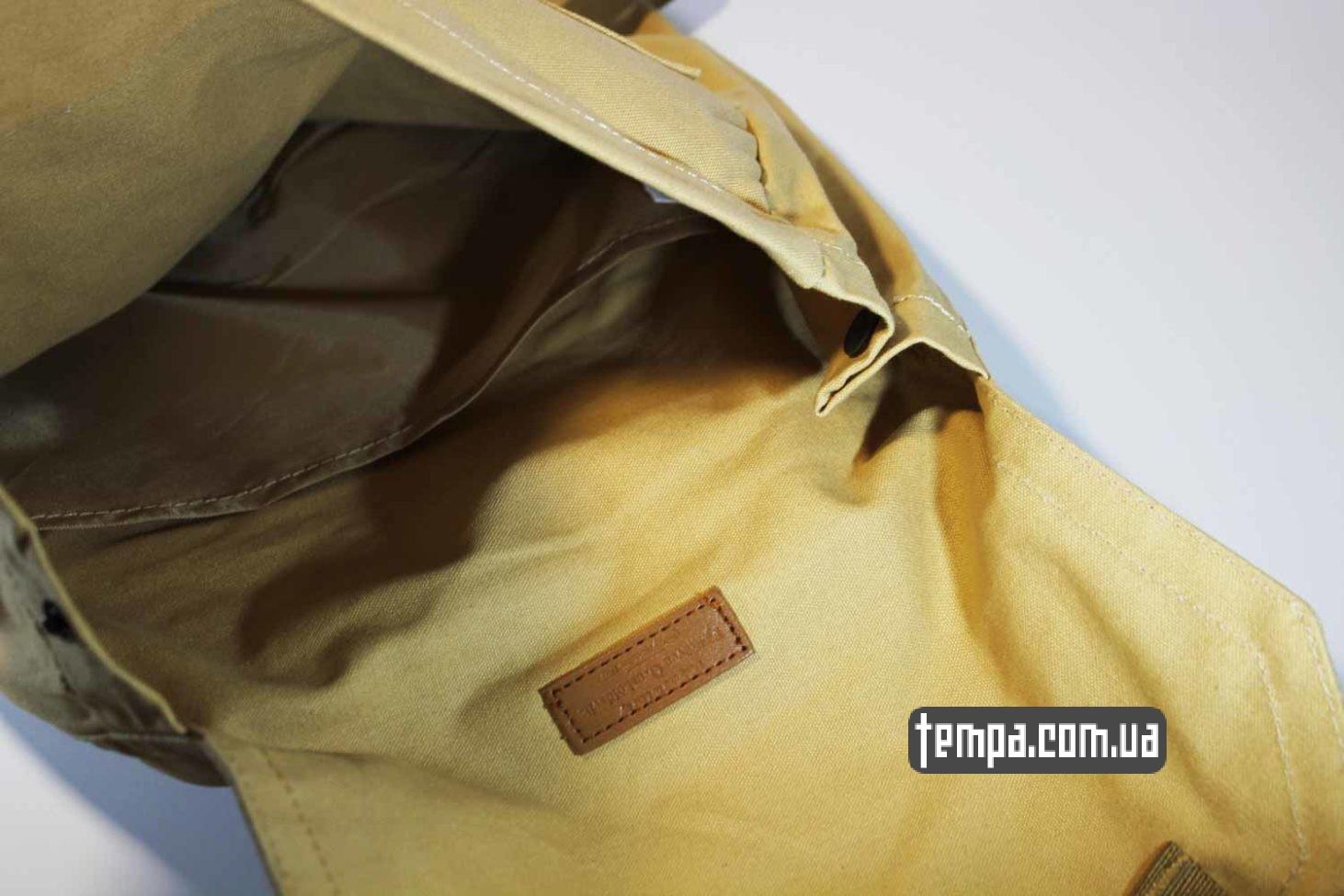двойной с прокладкой ортепедический рюкзак сумка Fjallraven Foldsack No.1 Backpack бежевый