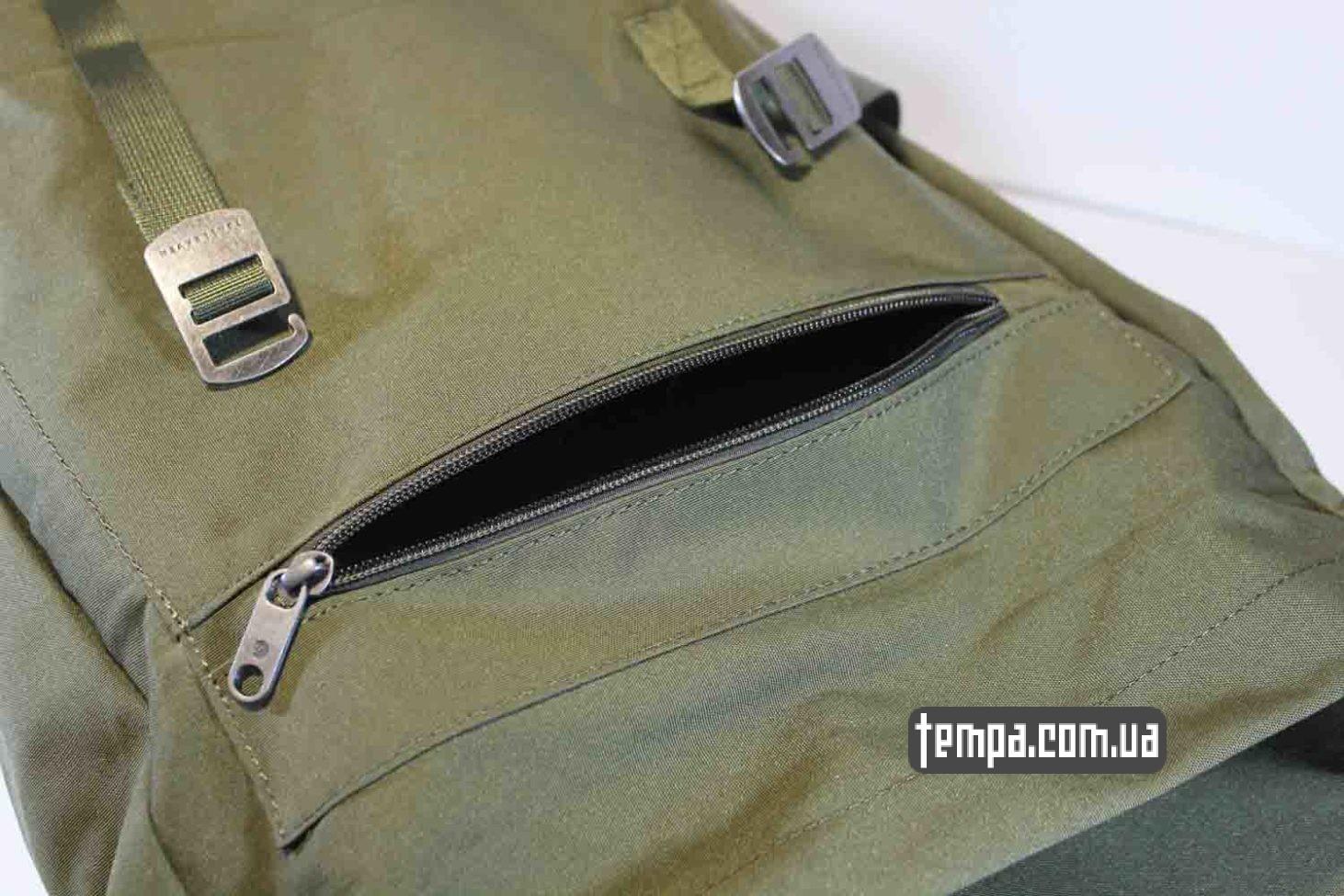 где купить оригинал рюкзак сумка Fjällräven Rucksack Foldsack No.1 - 16 литров зеленый