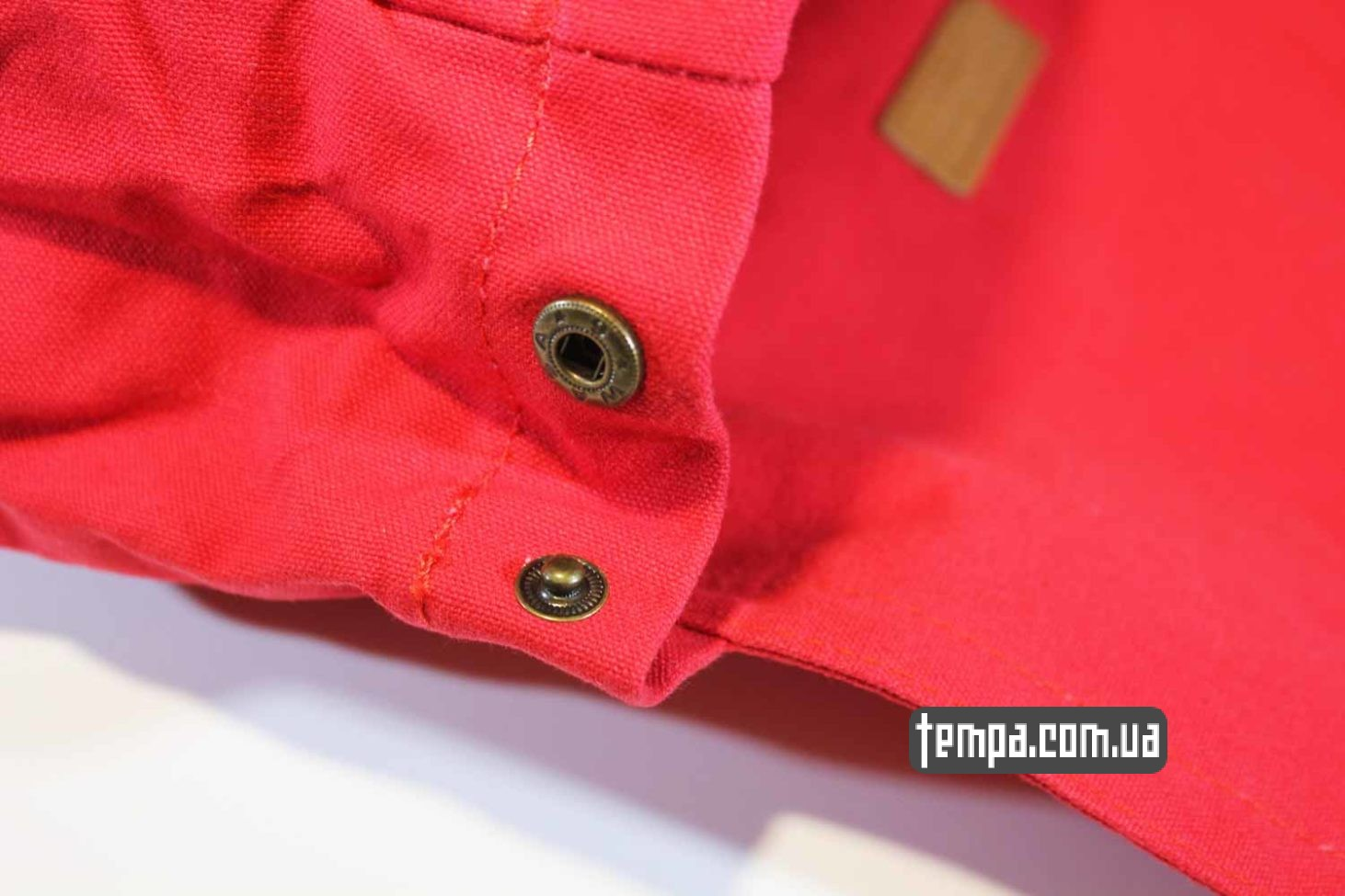 где купить оригинальный канкен рюкзак сумка Fjällräven Foldsack No.1 Ox красная