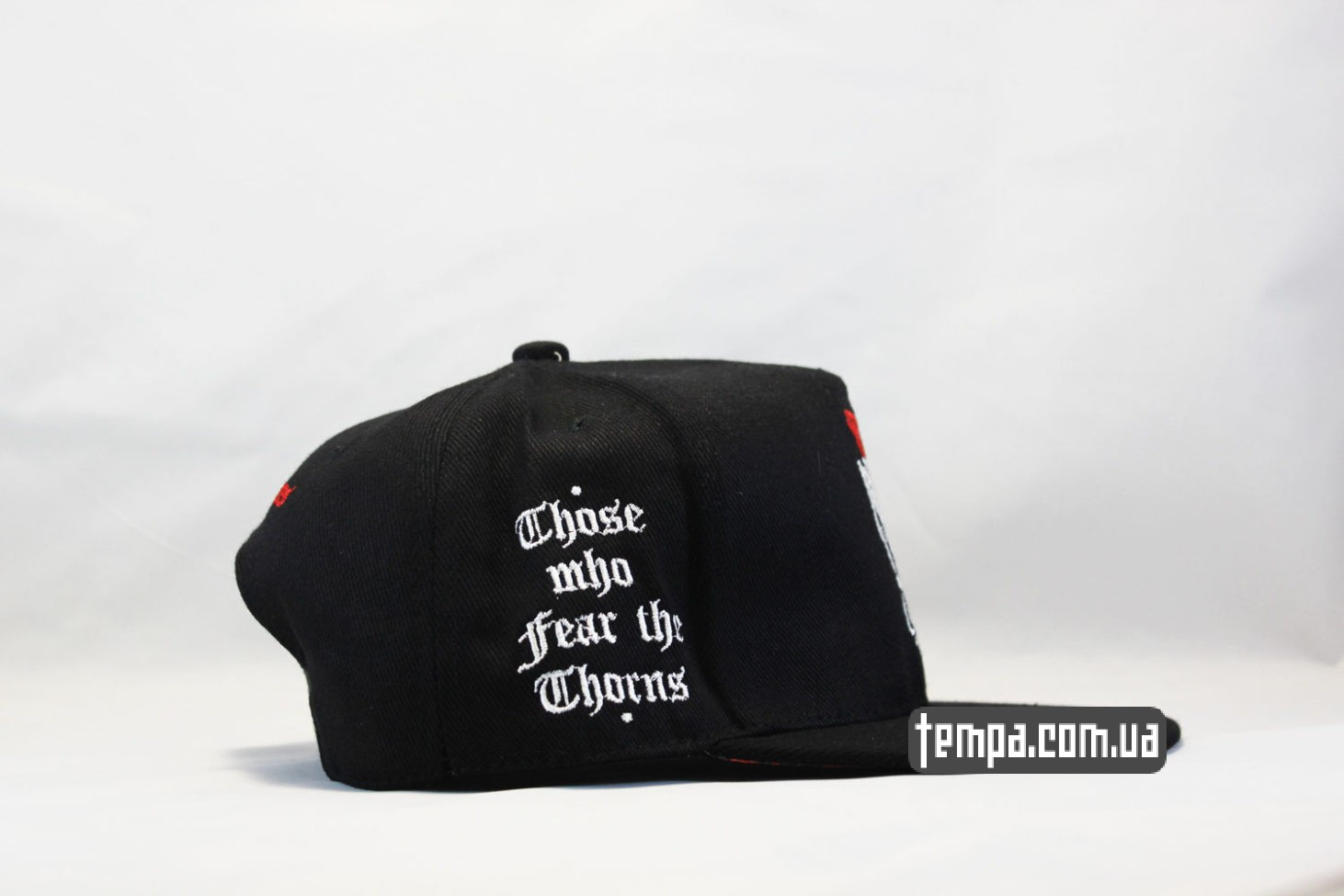хипхоп реперская одежда кепка snapback с розой Those who fear the thorns, will never pick the roses cayler and sons