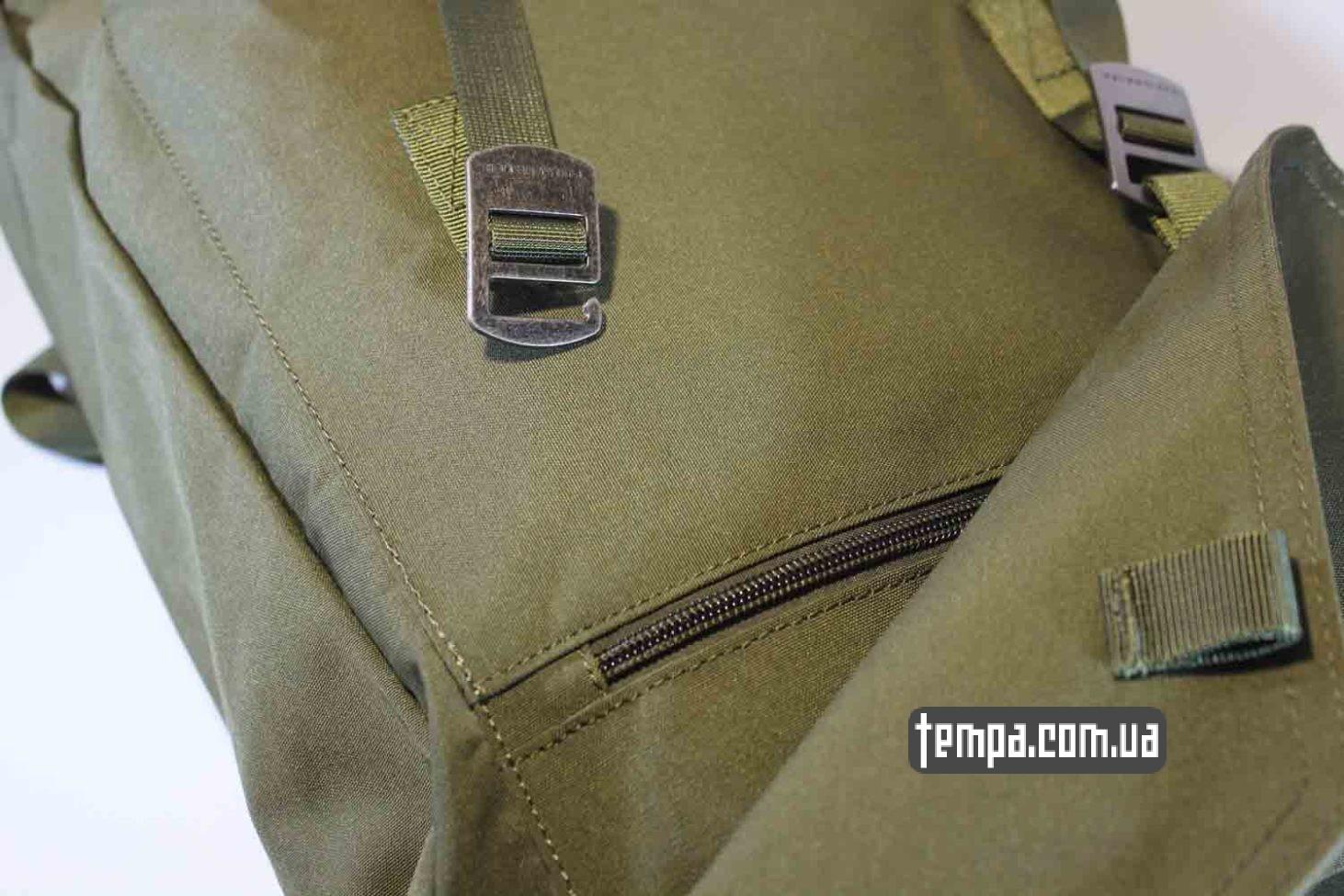 хипстерская модная крутая классная рюкзак сумка Fjällräven Rucksack Foldsack No.1 - 16 литров зеленый