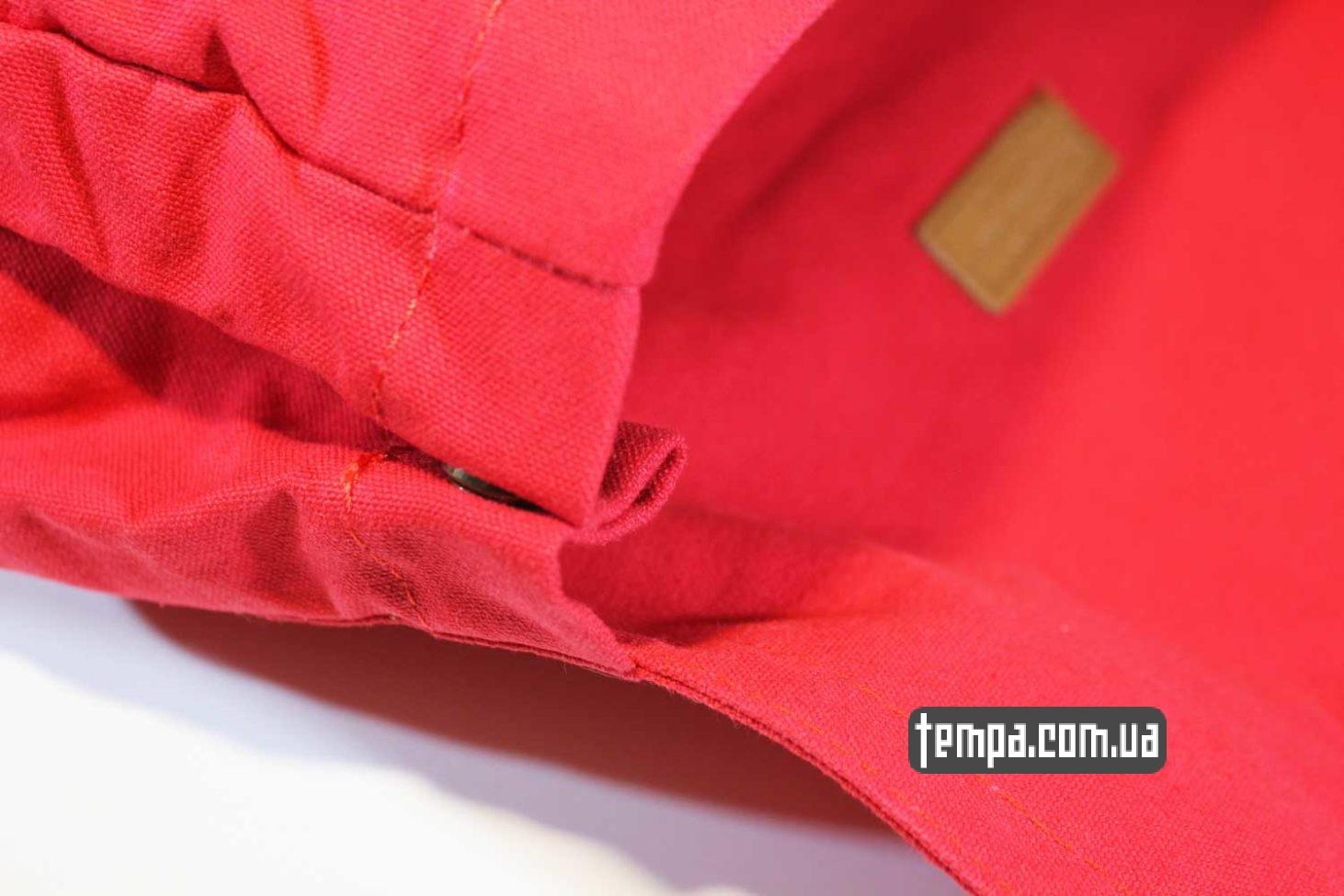 хипстерская одежда заказать Украина Киев Одесса рюкзак сумка Fjällräven Foldsack No.1 Ox красная