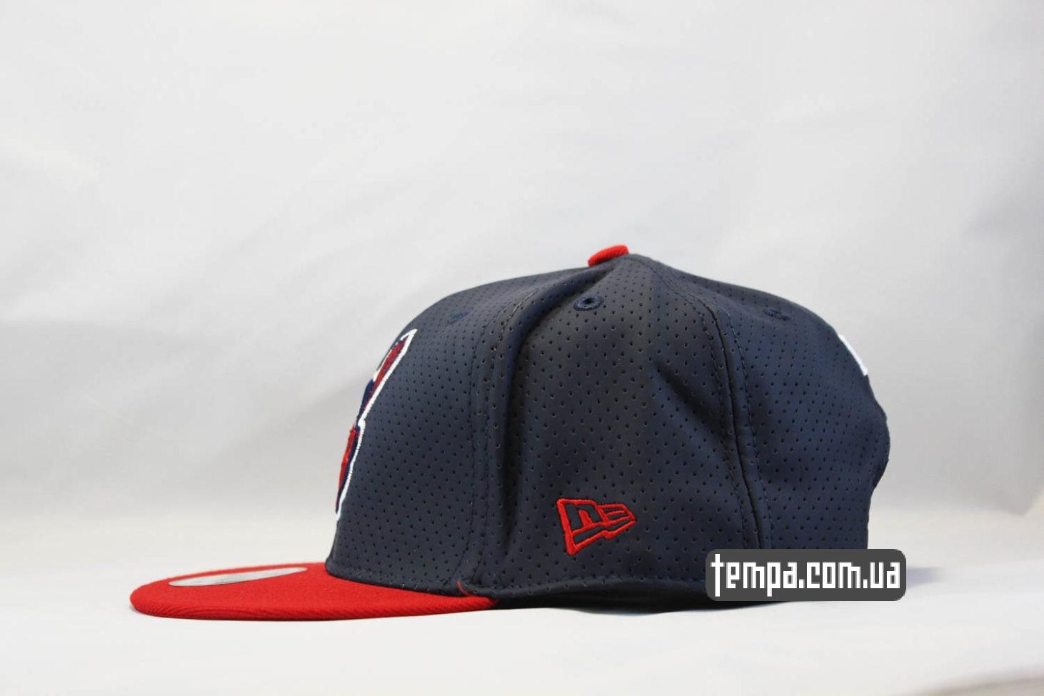 индейская кепка бейсболка кепка snapback Cleveland Indians New Era trucker с сеточкой