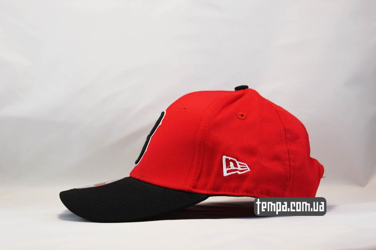 кепка с круглы козырьком кепка бейсболка BOSTON REDSOX красная new era
