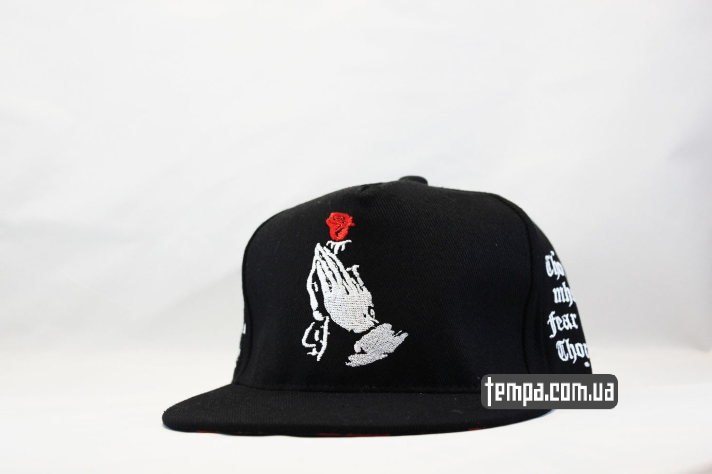 кепка snapback с розой Those who fear the thorns, will never pick the roses cayler and sons