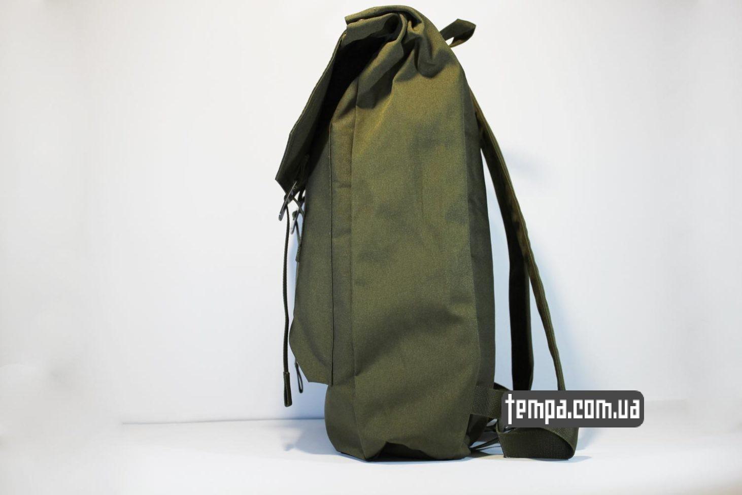 мужской женский школьный рюкзак сумка Fjällräven Rucksack Foldsack No.1 - 16 литров зеленый