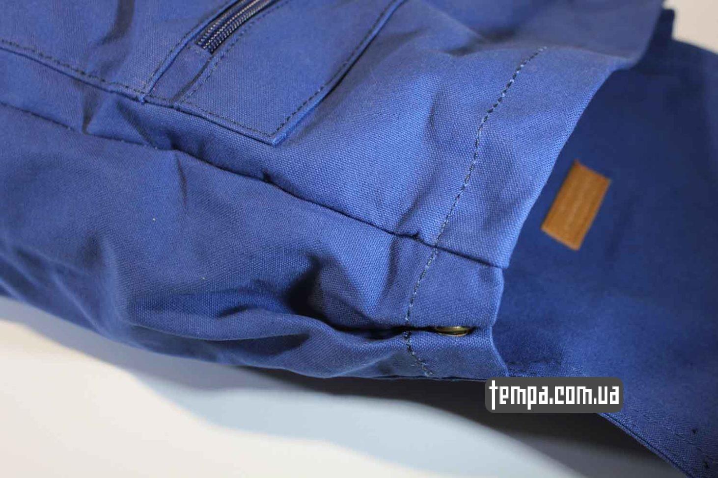 мужской женский унисекс синий рюкзак сумка Fjallraven Foldsack No.1 Backpack