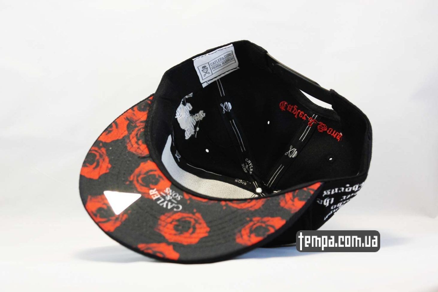 одежда с розами кепка snapback с розой Those who fear the thorns, will never pick the roses cayler and sons