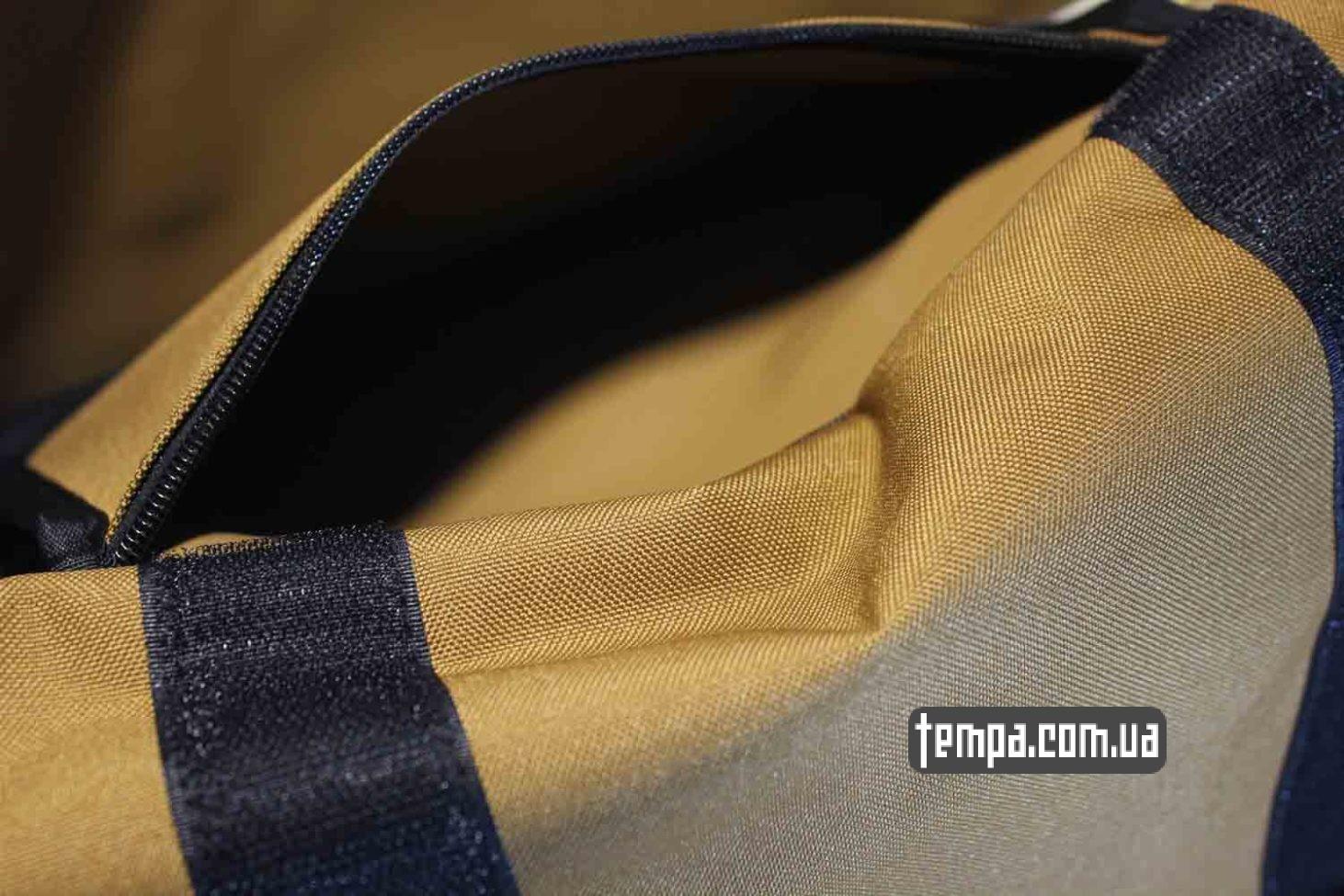 плотная прочная сумка через плечо carhartt bag коричневая купить Украина