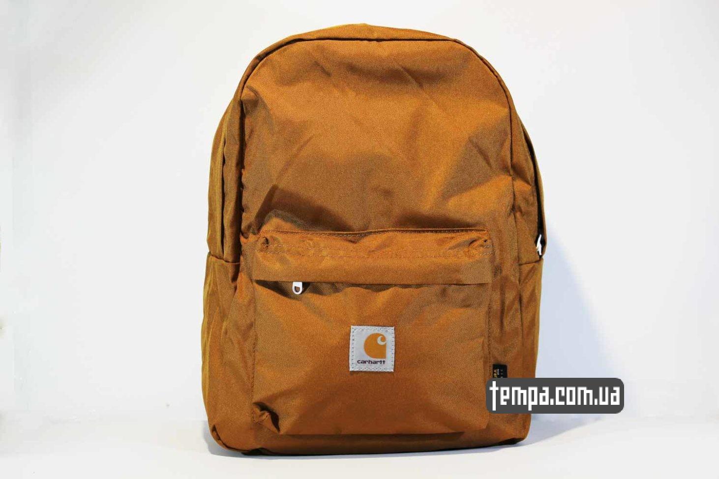 рюкзак Carhartt коричневый купить оригинал bagpack кархартт_