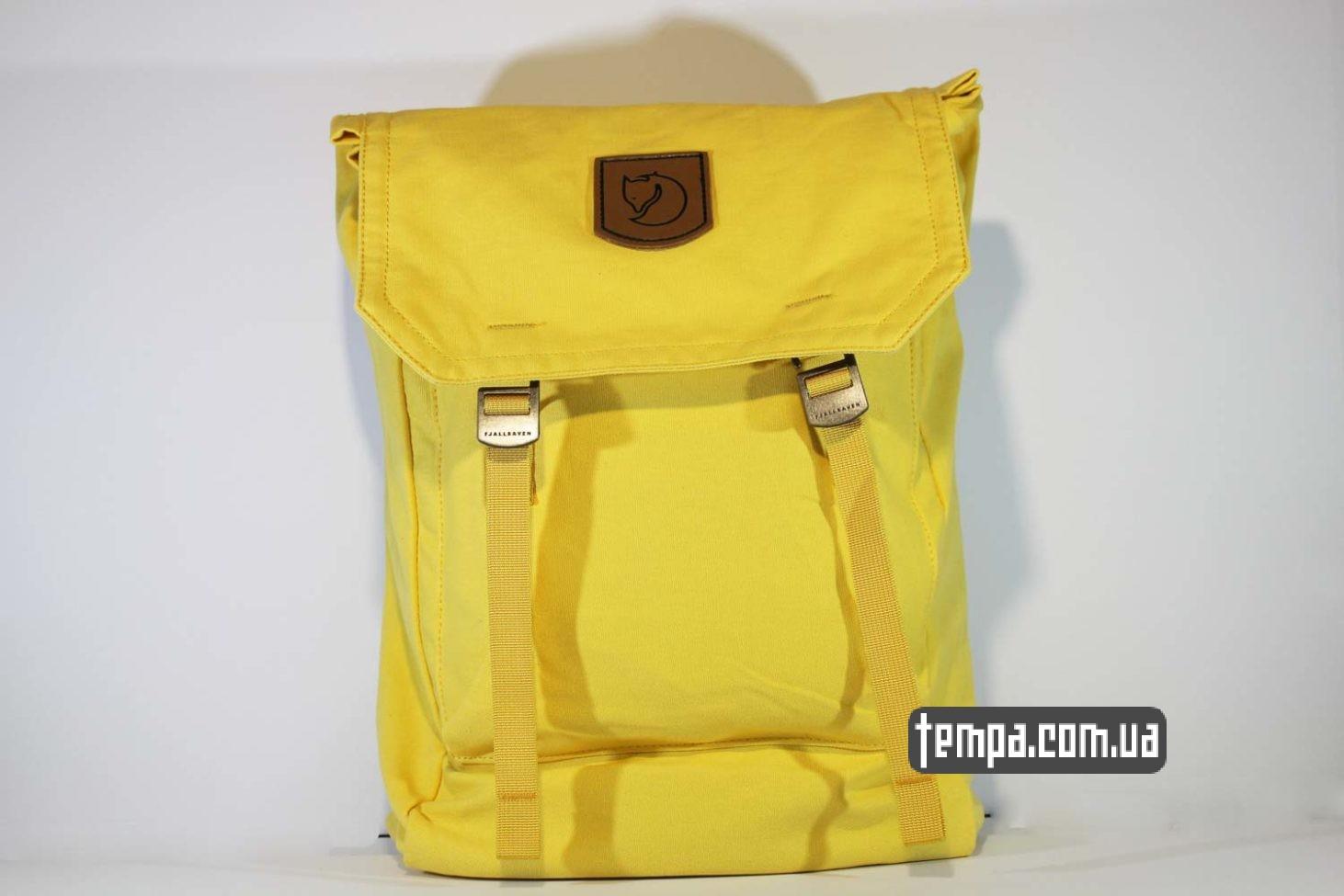рюкзак сумка FOLDSACK NO.1 fjallraven kanken желтый