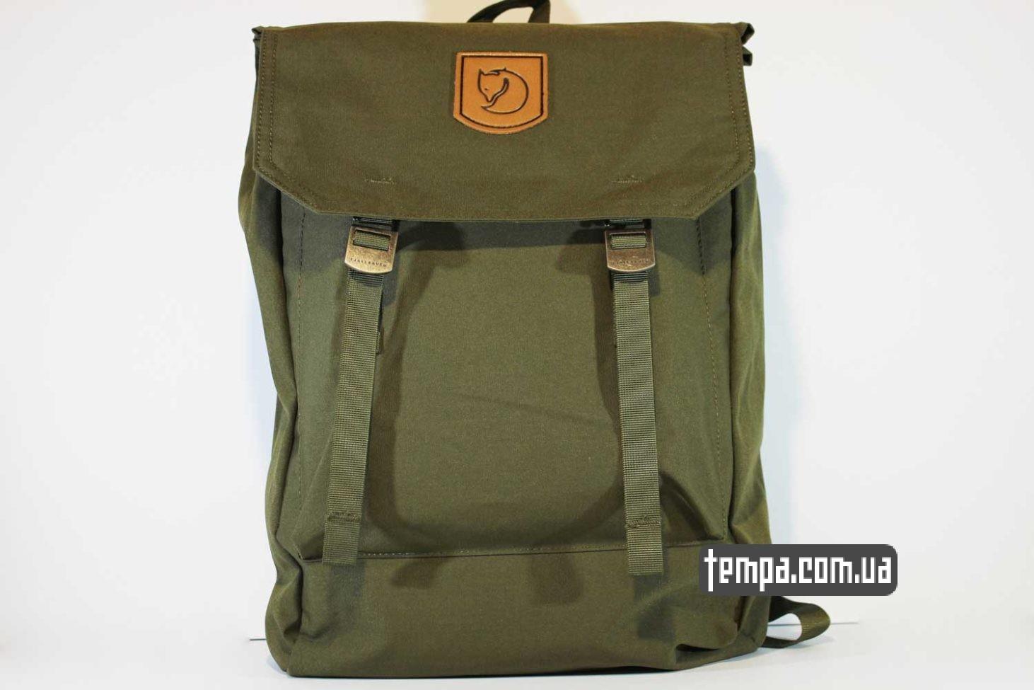 рюкзак сумка Fjällräven Rucksack Foldsack No.1 - 16 литров зеленый