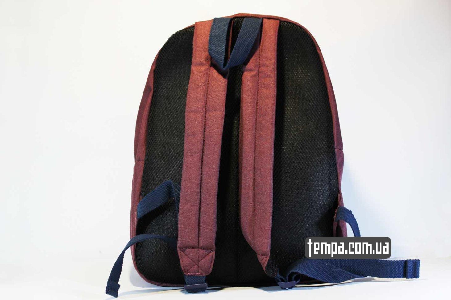 с подкладкой школьный рюкзак Carhartt красный бордовый портфель купить Украина