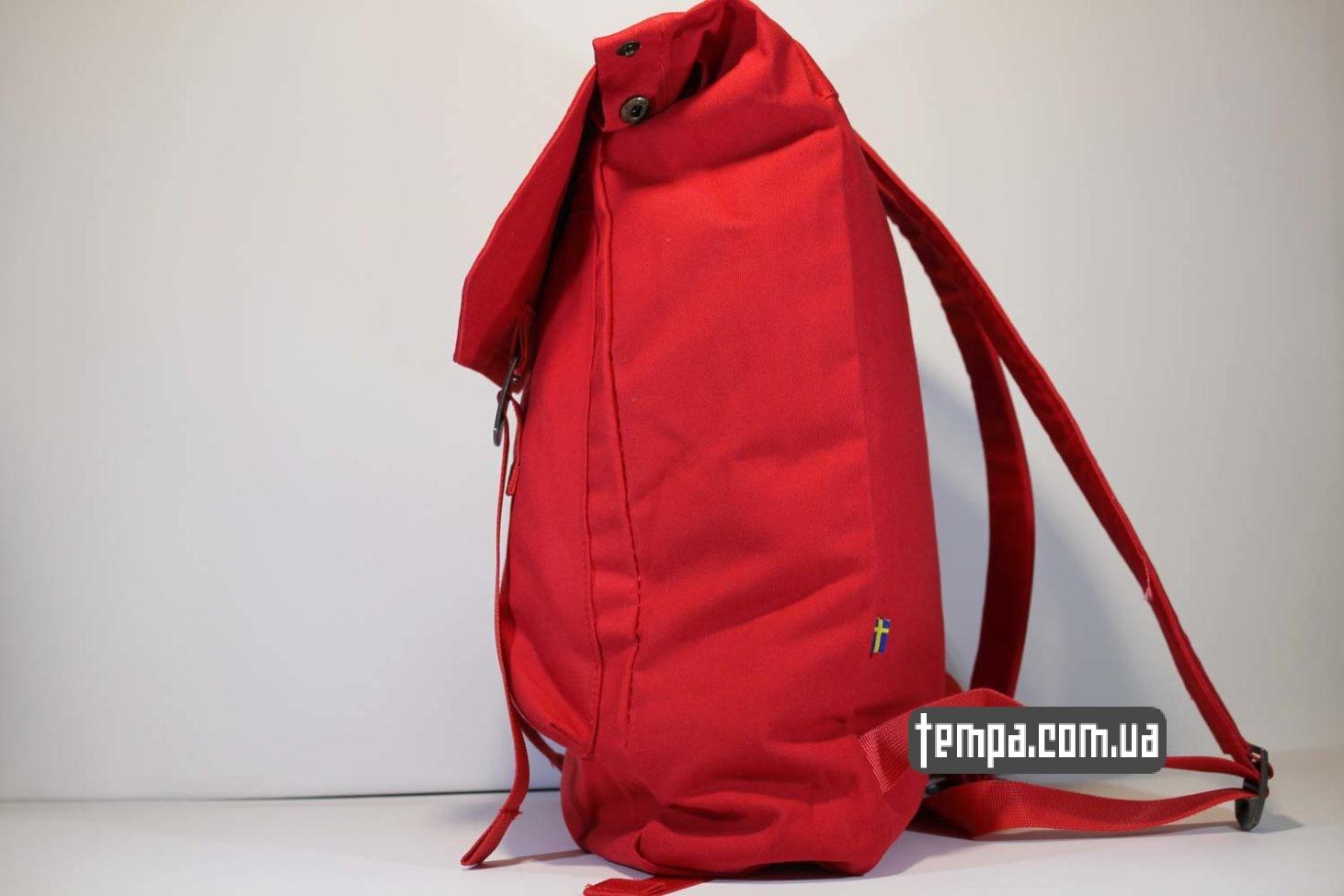 шведские оригинал рюкзак сумка Fjällräven Foldsack No.1 Ox красная