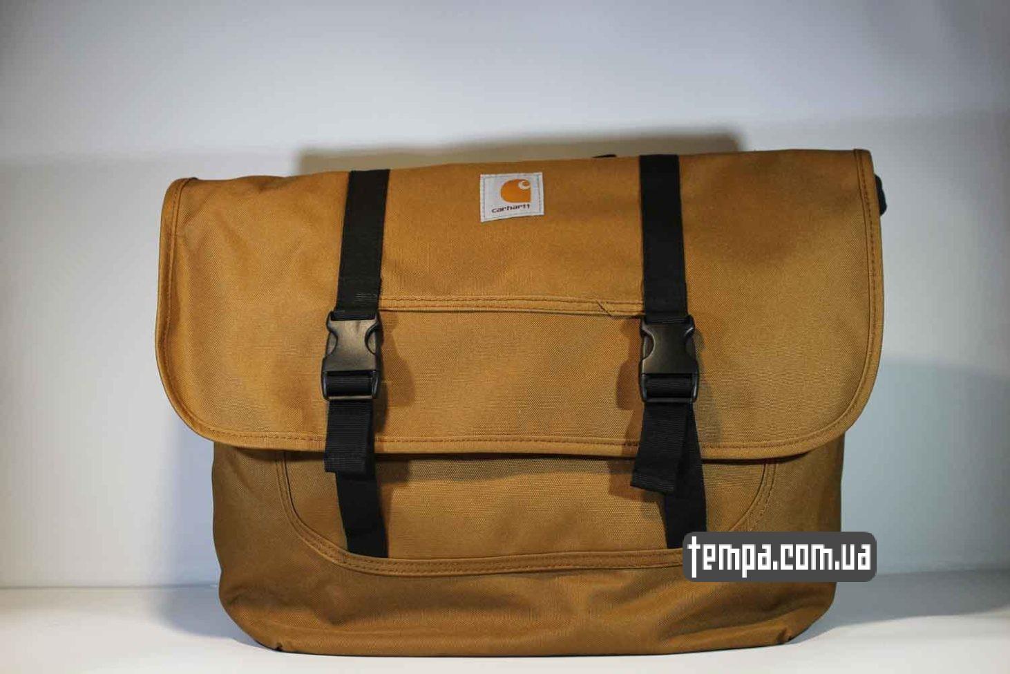 сумка через плечо carhartt bag коричневая купить Украина