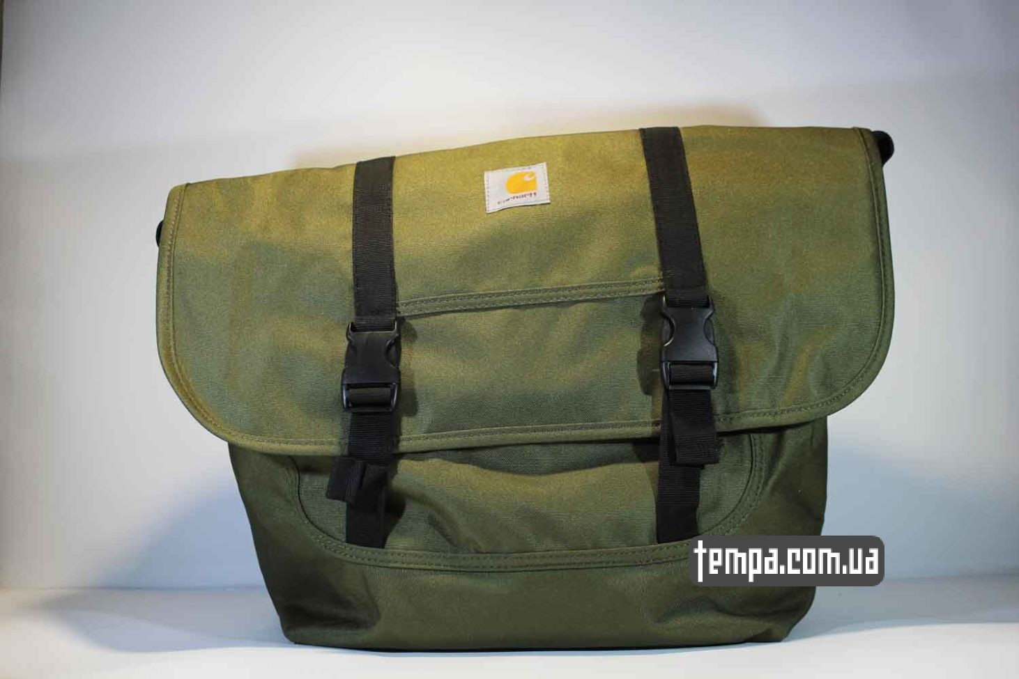 сумка через плечо carhartt зеленая купить Украина