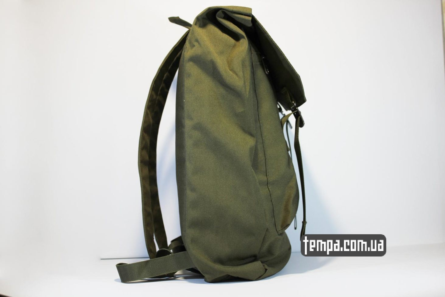 зеленый хакки рюкзак сумка Fjällräven Rucksack Foldsack No.1 - 16 литров зеленый