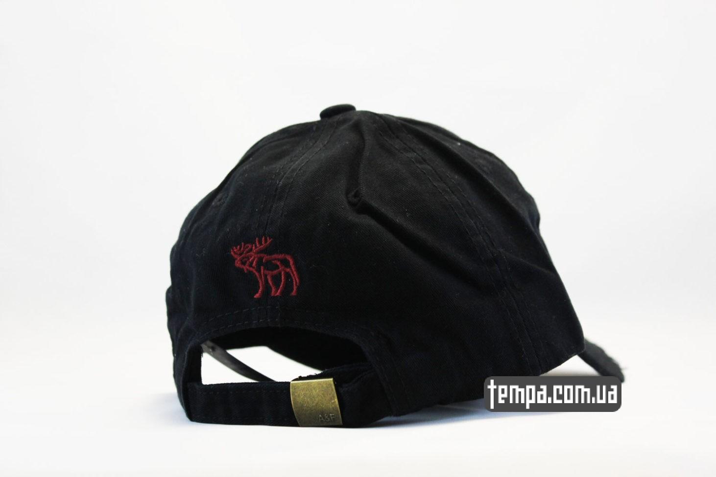 США USA америка кепка бейсболка Abercrombie Fitch 1892 Holister черная